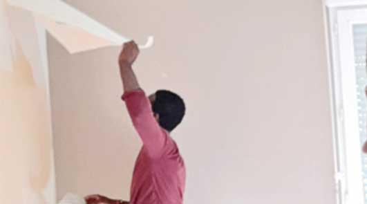 Peindre Papier Peint Vinyle Expanse Tissu Mural Mat Ou Satin